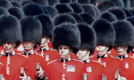 Waterloo British Military Hats