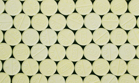 Tablets of diazepam, better known as the tranquilliser Valium