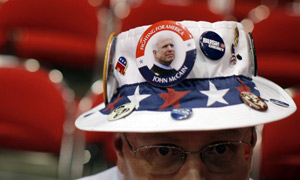 republican convention, hat