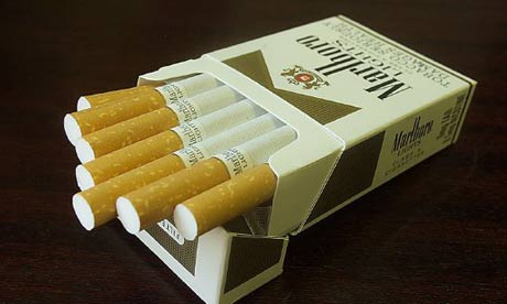 Cigarettes Golden American made with pig