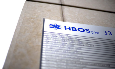 An HBOS branch in London