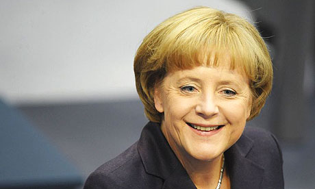 The German chancellor, Angela Merkel