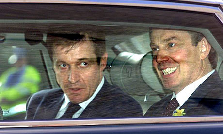 Tony Blair and Alastair Campbell in Inverness in 2001Tony Blair and Alastair Campbell in Inverness in 2001