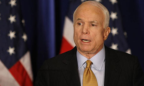 McCain wants to delay the debate this Friday; Obama rejects this