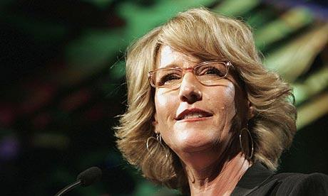 Environmental activist Erin Brockovich