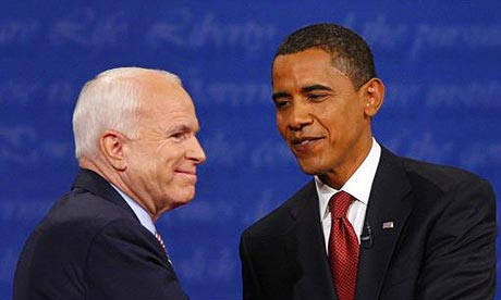 HELP ME TO WRITE ESSAY ABOUT OBAMA AND MCCAIN?