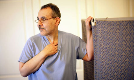 Mohammed Taranissi in his clinic in London