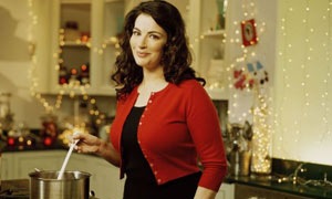 Nigella Lawson joins the running with a book on how to entertain at Christmans
