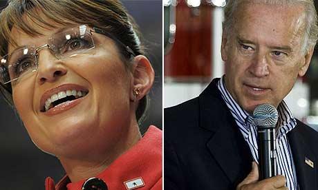 Sarah Palin, Joe Biden, composite