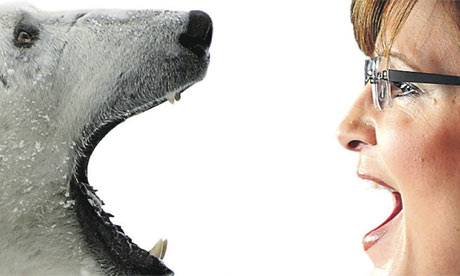 Polar bear v Sarah Palin