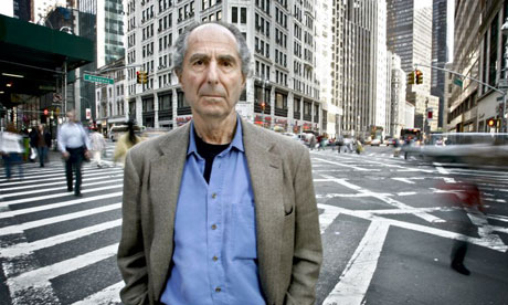 American author Philip Roth in New York City