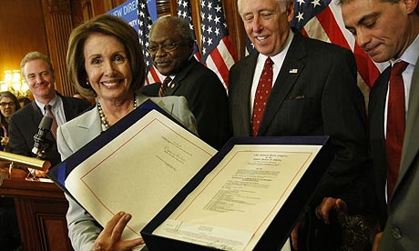 Nancy Pelosi, bail-out bill, House of Representatives