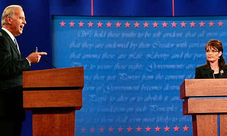 Joe Biden, Sarah Palin, vice presidential debate