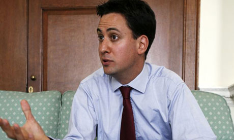 Ed Miliband, the climate change and energy secretary