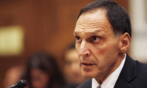 CEO for Lehman Brothers, Richard Fuld, testifies in front of the Committee on Oversight and Government Reform in Washington