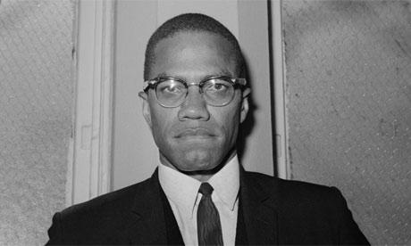 Malcolm X in 1963. Photograph: Bettmann/Corbis