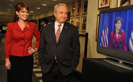 Palin and Lorne Michaels