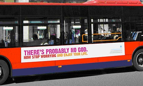 There is no God poster