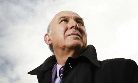 Stuart Jeffries meets the Lib Dems' economics expert Vince Cable ...