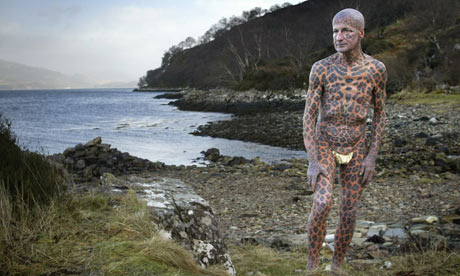 Tom Leppard the leopard man of Skye