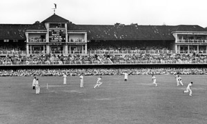 Cricket at Lord's in 1950