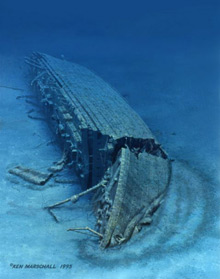 Britannic Wreck Pictures http://www.guardian.co.uk/world/2008/oct/29/titanic-britannic-marine-museum-sea