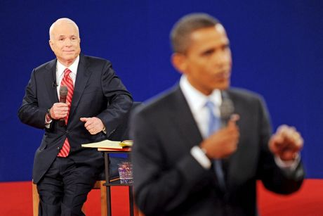 Obama and McCain debate