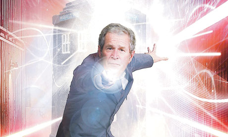 George W Bush could step into David Tennant's shoes