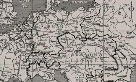world war 1 map europe 1914. Europe#39;s boundaries in 1914