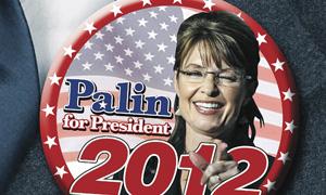 A Sarah Palin badge