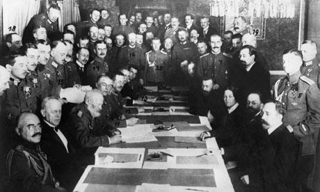 l'armistice du 11 novembre 1918 Brest-LitovskTreaty460x276