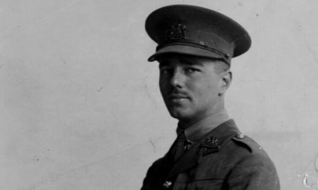 War Poet Wilfred Owen in