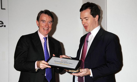 George Osborne and Lord Mandelson
