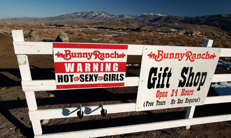 The Bunny Ranch in Reno, Nevada