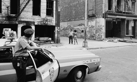 Urban decay in New York 1978, when crime and a crack epidemic were sweeping the city