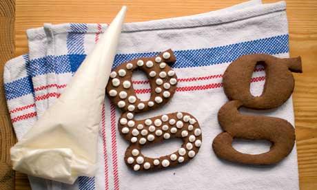 Dan Lepard's Christmas ginger biscuits