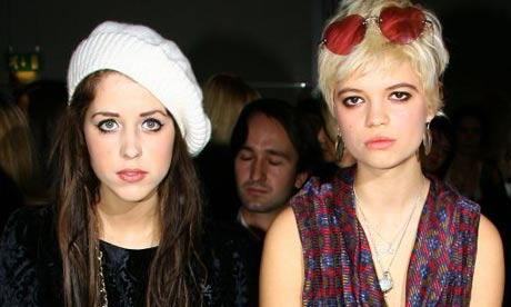 Sisters Peaches and Pixie Geldof