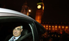 Alistair Darling leaves parliament