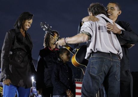 Springsteen and Obama