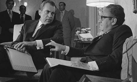 Richard Nixon and Henry Kissinger