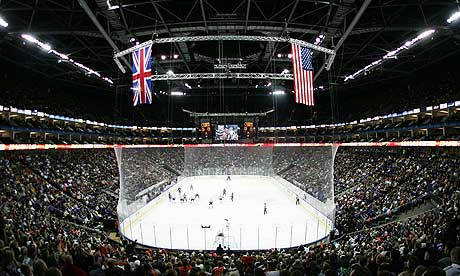 Nhl ian winwood on the possibility of an nhl franchise for Hotels 02 arena london