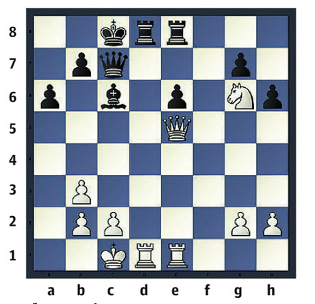 Chess: Ashton-King, 4NCL2006. Black to play
