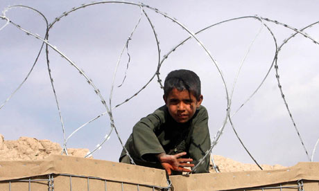 Afghan boy in Helmand