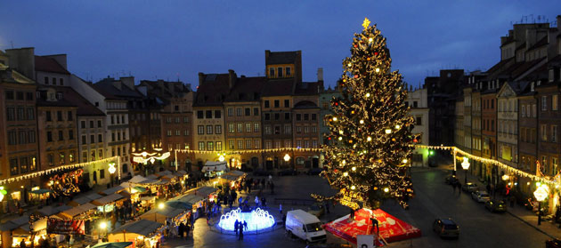 Gallery Christmas lights: Warsaw