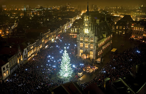 Gallery Christmas lights: Gouda