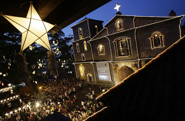 Gallery Christmas lights: Manila