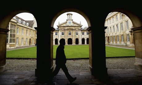 A man at Cambridge University