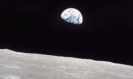 looking at drawing the moon from earth - photo #40