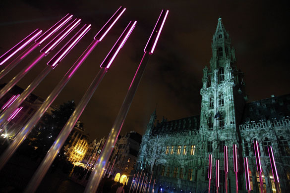 Gallery Light installations: Christmas lights in Brussels