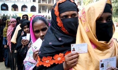 Voting in Bangladesh landmark elections